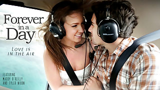 Maddy O'Reilly & Tyler Nixon in Forever In A Day Video