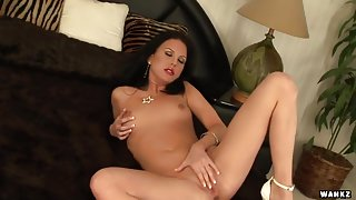 Destiny St Claire Rubs Her Aching Clit
