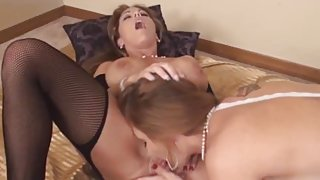 MILF Pussy Eating Party with Busty Charlee Chase