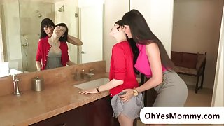 Eva feels erotic towards teen Heather