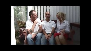 British wife MMF threesome with hubby and friend