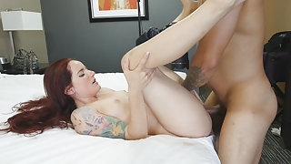 Tony & Maci May in Hairy Nubile Loves Rough Fuck - PrivateCasting-X