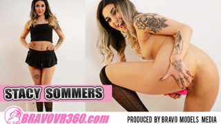Petite Stacy Sommers Toys Her Twat