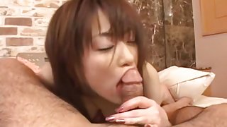 Akari Hoshino Uncensored Hardcore Video with Swallow, Dildos/Toys scenes