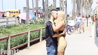 Kissing Prank - CELEBRITY EDITION!