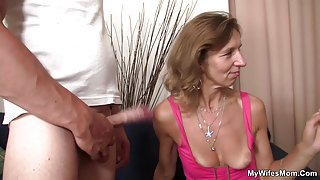 She is riding not son in law cock