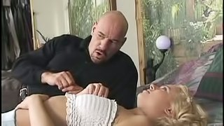 Blonde Gets Hardcore Anal And Cum