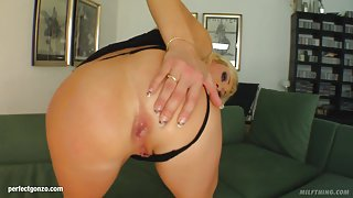 Betty Cane in mature milf gonzo porn scene from Milf Thing