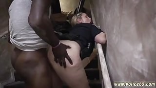 Fake taxi woman police officer and police arrest naked girl Illegal