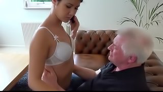 Old young porn Hot 18 years old virgin sex with old man