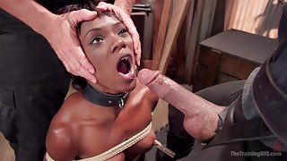 Naughty Ana Gets Tied Up And Awfully Used