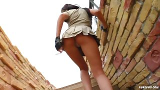 POV pounding with a trooper
