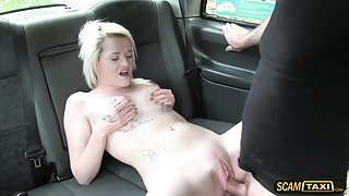 Scottish Lass gets rammed by a big cock