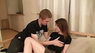 Unbelievable dusky youthful harlot Lina Paige acting in BDSM video
