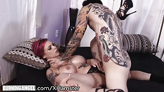 BurningAngel Anna Bell Peaks Squirts from Hardcore Fuck