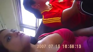 Hidden Downblouse In Bus