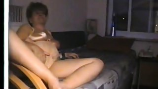 Amateur adult couple foreplay athome