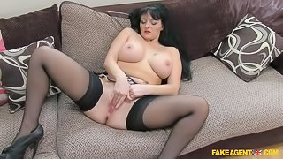 Adventurous Babe With Big Tits Loves Anal