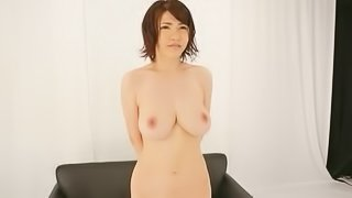 Hot Busty Japanese Teen Gets Her Pink Pussy Masturbated