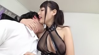 Is there anything that Hamasaki loves more than the cock sucking?
