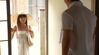 Juicy Asuka Hoshino Gets Touched Hard By A Horny Dude