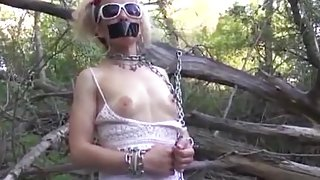 BDSM Submission in Public with a Teen