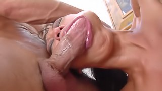 Gangbanging a huge slut Tia Ling and having a wonderful time