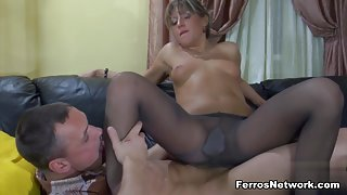 PantyhoseTales Clip: Nora and Connor