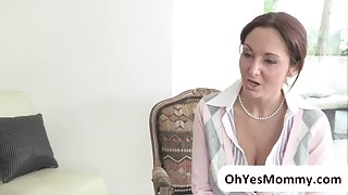 Teacher Ava demonstrates threesome sex