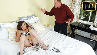Haley Banks in Innocent Babysitters First Time - MyBabysittersClub
