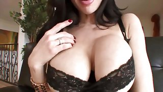 POV BJ mother I'd like to fuck In Stockings