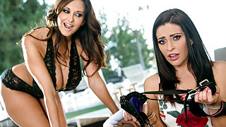 Ava Addams & Gracie Glam in Way Better Than Dad: Part Two Video