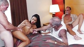 Old granny fucked hard xxx Staycation with