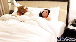 hot interracial lesbian session with two stunners video feature 1