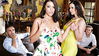Adriana Chechik & Kendra Lust & Keiran Lee in Our Sons Girlfriend - Brazzers