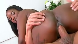 Mocca being fucked in her dark ass