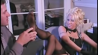 Naughty MILF With Fake Tits Gets Pounded Hard in The Office
