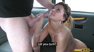 Eva in Taxi seduction with anal sex - FakeTaxi
