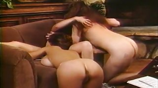Three Lesbos Lick Each Others' Assholes