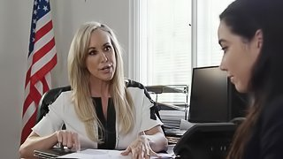 Karlee Grey is interested in a fuck with hot MILF Brandi Love