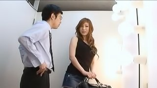 Natsu Ando's Huge Tits Are Perfect To Grab On To