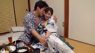 Miyabe's dreams about pussy spooning are now finally the reality