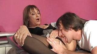 Horny Mom Fucks Her Son's Friend