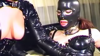 My Rubbertoy episode 2 featuring Mistress Sandra (Fetish Live)
