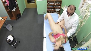 Bibi in Horny sexy patients six years sex abstinence broken by dirty doctors cock - FakeHospital