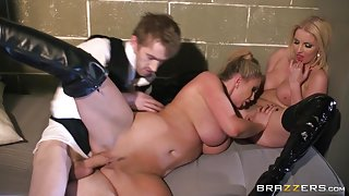 Pornstars Like it Big: The Doctor: Part Three. Georgie Lyall, Leigh Darby, Victoria Summers, Danny D