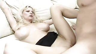 Blonde With Big Tits Anal Fuck And Suck