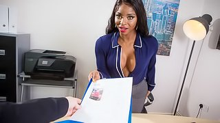 Interview With A Busty Boss
