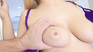 Sweet blonde loves passionate fucking