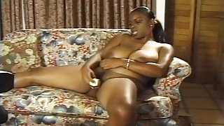 Camera Capturing Ebony Lola Masturbating